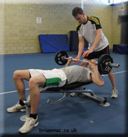 Bench Press - Mid position